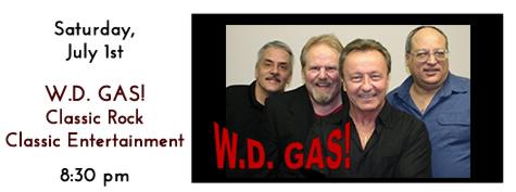 W.D. GAS plays at Manhatttan's in Carol Stream