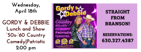 Gordy & Debbie Lunch and Show