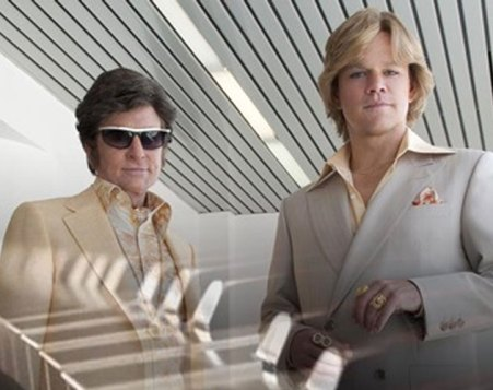 Michael Douglas y Matt Damon, pareja gay en 'Behind The Candelabra'