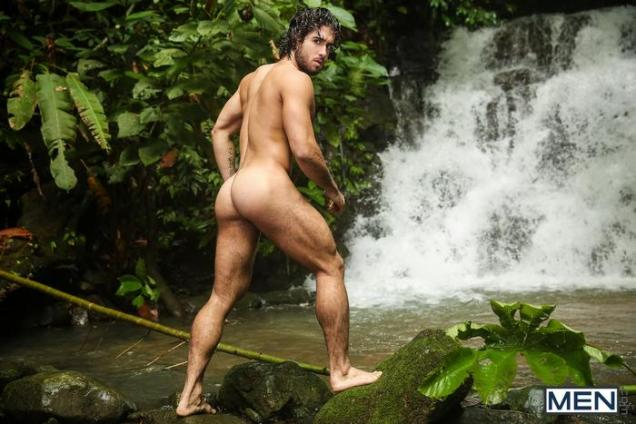 Tarzan-Gay-Porn-Parody-XXX-Diego-Sans-Tobias-Outdoor-Sex-Waterfall-4