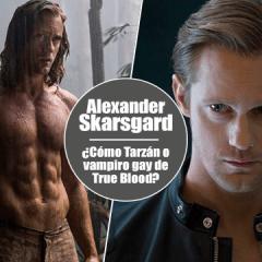 El nuevo Tarzán, Alexander Skarsgard habla de las escenas de sexo gay en True Blood