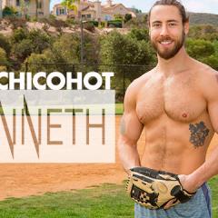 Kenneth pasó de batear bolas de béisbol a pelotas de otros hombres