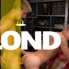 Delicioso sexo entre los rubios Max Carter & Nathan Reed