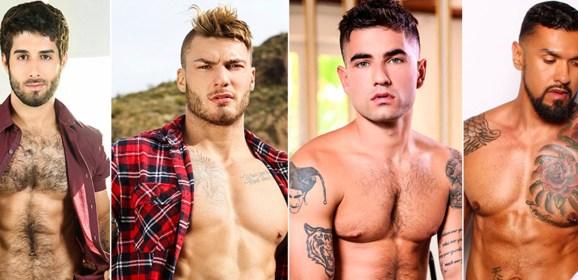 Las 50 estrellas de porno gay más buscadas de 2018