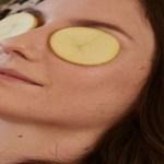 Coloque batata no rosto antes de dormir