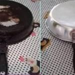 Remova manchas de queimado em suas panelas com apenas 1 ingrediente