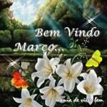 MENSAGEM DE BEM VINDO MARÇO