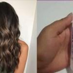 Hidratação de cabelo poderosa com soro fisiológico
