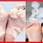 Coloque creme dental em seus pés antes de dormir, você ficará surpreso com o resultado!
