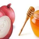 Mel e Cebola: receita para combater a tosse