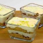 Aprenda a fazer uma deliciosa sobremesa gelada de limão e biscoito em 5 minutos e sem levar ao forno!