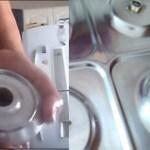 Seu fogão ficará muito mais brilhoso se você lavá-lo com isto: Sem judiar das mãos e unhas, veja como é a técnica