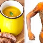 Gengibre e cúrcuma: bebida medicinal para as articulações