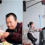 Mãe abandona família e menina de 6 anos cuida sozinha do pai doente
