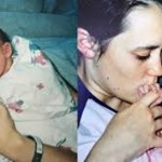 """""""Eu tinha dezenove anos quando descobri que estava grávida. Passei 4 dias com o meu bebê."""""""
