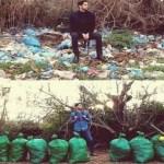 Novo desafio na internet é postar fotos recolhendo lixo: #TrashTag