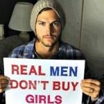 Ator Ashton Kutcher salvou mais de 6.000 crianças do tráfico clandestino