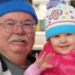 As crianças crescem mais felizes com os avós ao lado delas