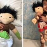 Bonecas são criadas e personalizadas por empresária para representar crianças com deficiências e condições raras.