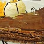Torta de biscoito Maria que não vai ao forno