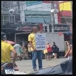 Homem conseguiu emprego após foto 'viralizar' nas redes sociais