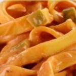 Receita sensacional de macarrão com molho de requeijão e maionese