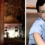 Menino de 5 anos salvou toda a família de um incêndio em casa