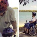 Este marido inventou uma bicicleta especial para passear com a sua mulher que tem Alzheimer