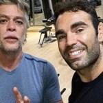 Ator Fábio Assunção perde 28 kg e é elogiado por personal dos famosos: 'Comprometimento'.