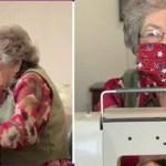 Idosa de 96 anos costura máscaras para ajudar pessoas da comunidade