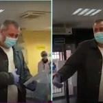 Um motorista de táxi que levava doentes de Covid de graça ao hospital recebe homenagem emocionante