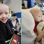 Menino de 4 anos venceu o coronavírus durante tratamento para câncer