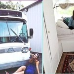 Jovem comprou um ônibus velho e transformou-o numa casa elegante e completa