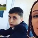 Mãe vai à escola e senta-se ao lado do filho, de 12 anos, para evitar que ele fosse rude com os professores.