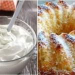 Aprenda a fazer este delicioso bolo de iogurte grego com canela sem açúcar