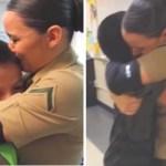 Mãe foi presa e a filha militar surpreende os irmãos ao ganhar a guarda deles