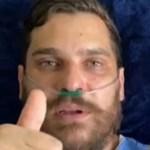 Cantor Cauan deixou UTI de hospital e grava mensagem carinhosa para os fãs