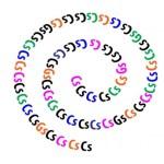 Desafio viral: consegue descobrir quantas letras GG tem na espiral em apenas 10 segundos?