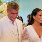 Ator Fábio Assunção se casa com advogada Ana Verena