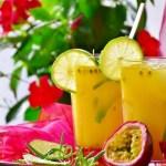 Suco de maracujá e mel para combater a ansiedade e dormir melhor