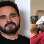 "Luciano Camargo fala da morte do pai, Seu Francisco, durante o programa ""É de Casa"""