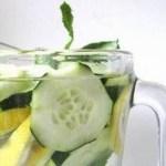 Refrescante bebida caseira para reduzir a sensação de barriga inchada!