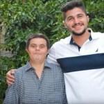 """Estudante de odontologia é grato a seu pai com síndrome de Down: """"Estou orgulhoso do meu pai"""""""