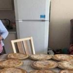 Esta idosa de 89 anos faz torta em plena pandemia para ajudar pessoas necessitadas