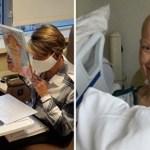 Mesmo lutando contra um câncer, professora continua com suas aulas online
