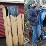 Jovem ganha casa digna após passar frio na rua