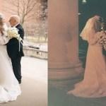 Casal celebrou seu 50º aniversário de casamento recriando sessão fotos produzidas em 1971