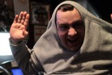 Matt's Cornholio impersonation.