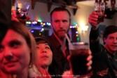 Last toast, CJ's Pub.