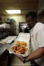 Dan Meade: In the Kitchen of Ching's Hot Wings, University